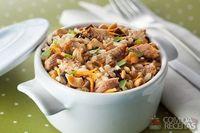 7 cereais com sardinha, berinjela e castanha