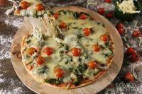 Pizza de liquidificador diferente