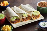 Burrito com atum