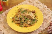 Galinhada com frango caipira