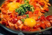 Cozinhar pimentão