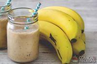 Milk-shake de banana com sorvete