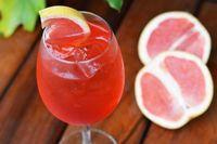 Drink blood orange spritz