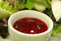Vinagrete de frutas vermelhas