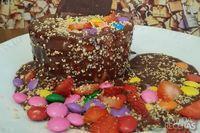 Grand gateau chocolate