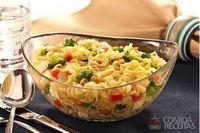 Nissin lámen legumes com brócolis e queijo