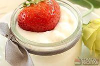 Iogurte de baunilha
