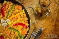 Paella vegetariana especial