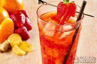 Drink tangerina com gengibre