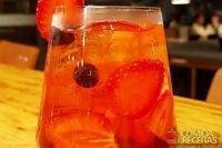 Gin moderninho–hibiscos e frutas vermelhas