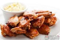 Asa de frango dourada