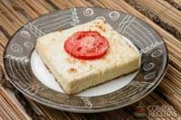 Assado de ricota e tomate