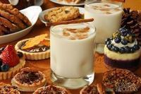 Batida de leite de coco