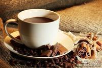 Café com chocolate e especiarias