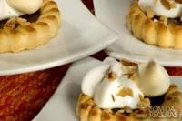 Canapé de tortinha com merengue