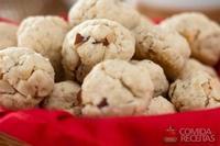 Cookie de laranja e castanha do pará