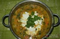 Cozido vegetariano (indiano)