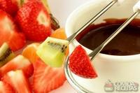 Fondue de chocolate diet