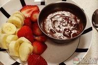 Ganache de chocolate da Dani