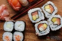 Hossomaki de salmão