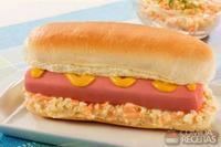 Hot dog refrescante