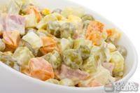Maionese com legumes