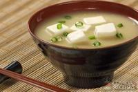 Missô-shiru com tofu