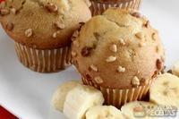 Muffin de banana com chia