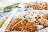 Pad thai noodle (macarrão tailandês)