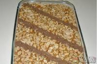 Pavê de amendoim moido