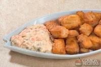 Peixinho ao molho tártaro
