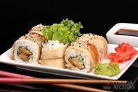 Sashimi de atum gratinado