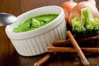 Sopa-creme de brócolis