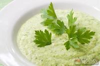 Sopa cremosa de aspargo