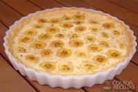 Torta de banana primavera
