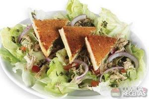 Toast salad