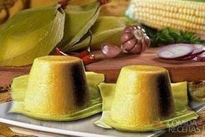 Mousse de milho verde especial