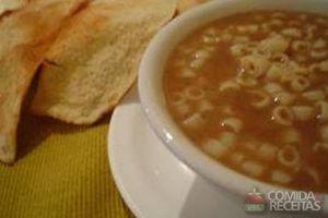 Sopa de feijão arabesco