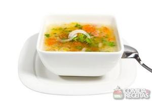 Sopa de caranguejo