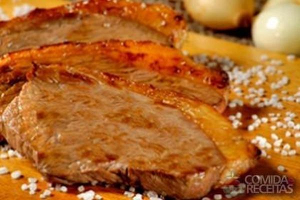 Receita de Picanha de frigideira - Comida e Receitas