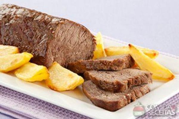 Carne assada diferente