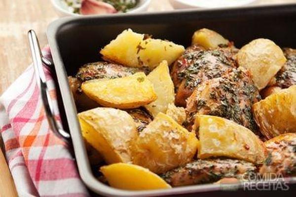 Receita de Frango com ervas especial - Comida e Receitas