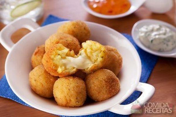 Arancini de queijo