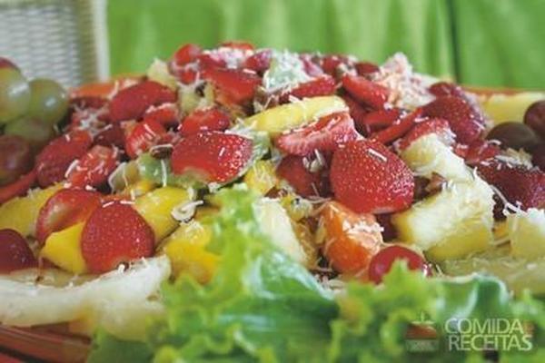 Salada de frutas italiana