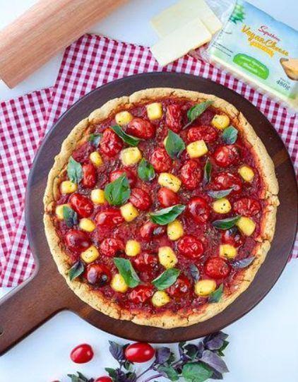 Pizza fofinha sem glúten