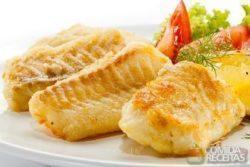 Filés de pescada ao forno