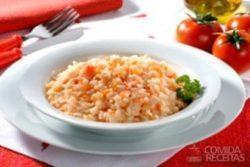 Risoto de tomate 1