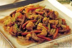 Carne à moda chinesa