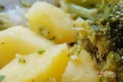Brócolis com batata