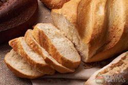 Pão caseiro macio